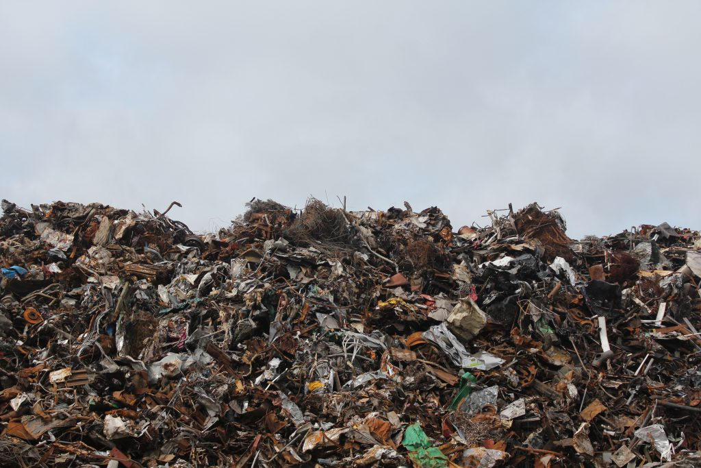 Waste in landfill is a huge source of carbon emissions.